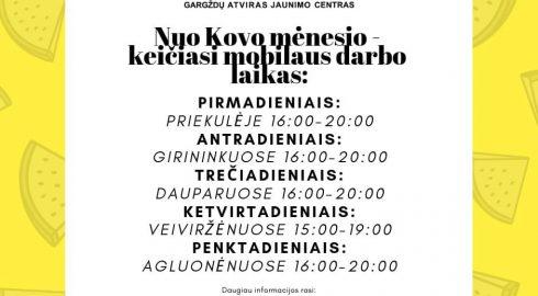 Mobilus darbas Klaipėdos rajone!