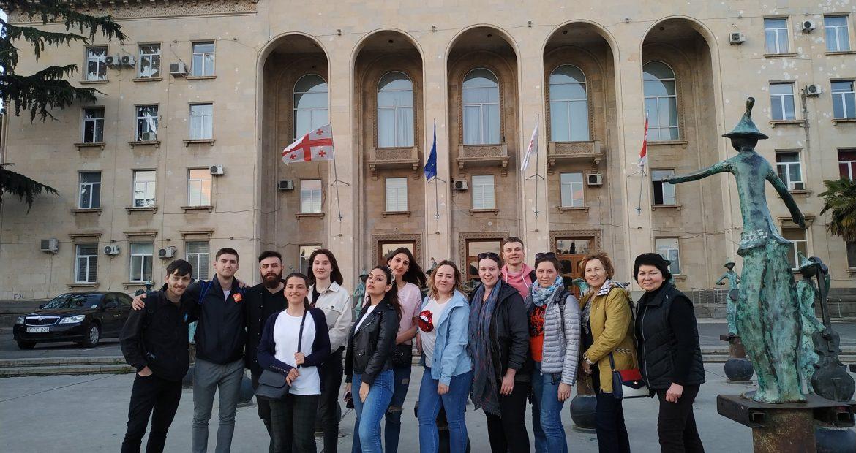 Jaunimo centro darbuotojai dalyvavo susitikime Rustavi mieste