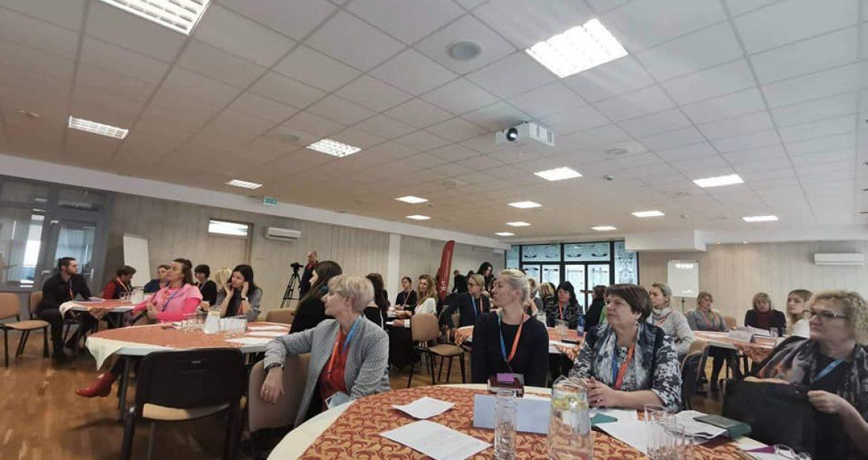 Gargždų atviro jaunimo komanda konferencijoje!