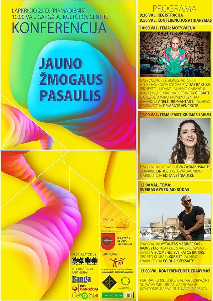 Konferencija – Jauno žmogaus pasaulis