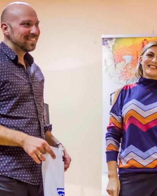 diskusija apie gyvenimą, profesijas ir darbą su Remigijumi Žiogu ir Egle Jackaite!