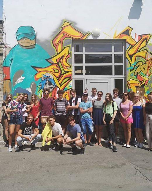 svečiai iš Elektrėnų jaunimo centro