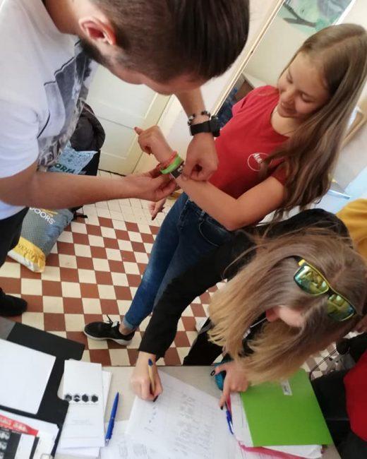 Pirmoji Gargždų atviro jaunimo centro mobilaus darbo stovykla