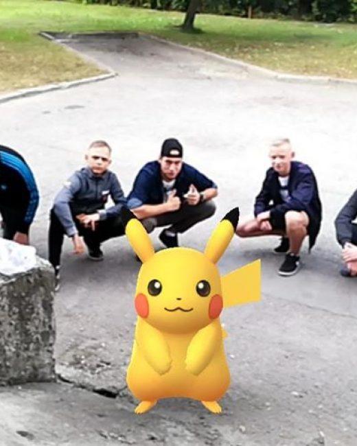 Šiandien Girininkuose gaudom pokemonus