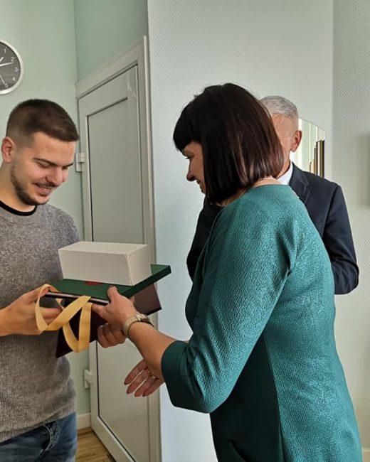 Michele Barbieri paskutinė diena Gargždų atvirame jaunimo centre