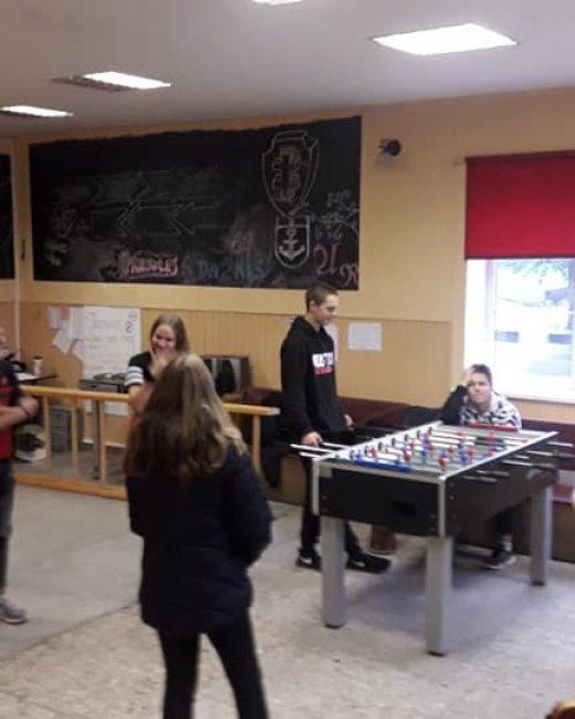 Priekulėje svečiuojasi Gargždų atviro jaunimo centro tarptautinė savanorė iš Sakartvelo Tamta