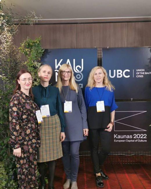 Jaunimo centro pristatymas tarptautinėje UBC konferencijoje