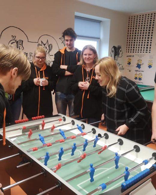 Jaunimo darbuotojų stalo futbolo turnyro Kuršėnuose!