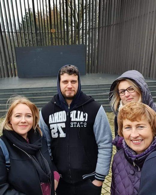 Gargždų atviro jaunimo centro komanda susitiko su atstovais iš Kretingos